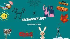 calendrier 2021